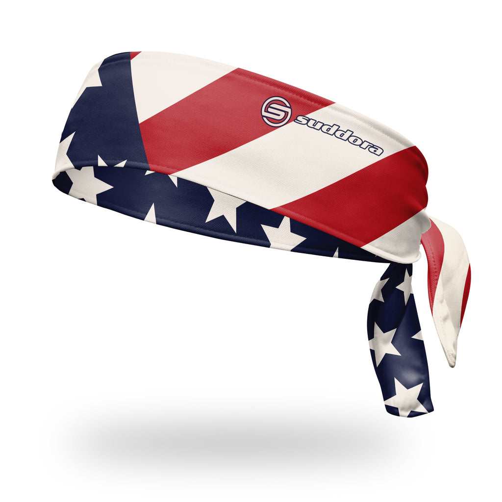 - Suddora USA Patriot Tie Headband
