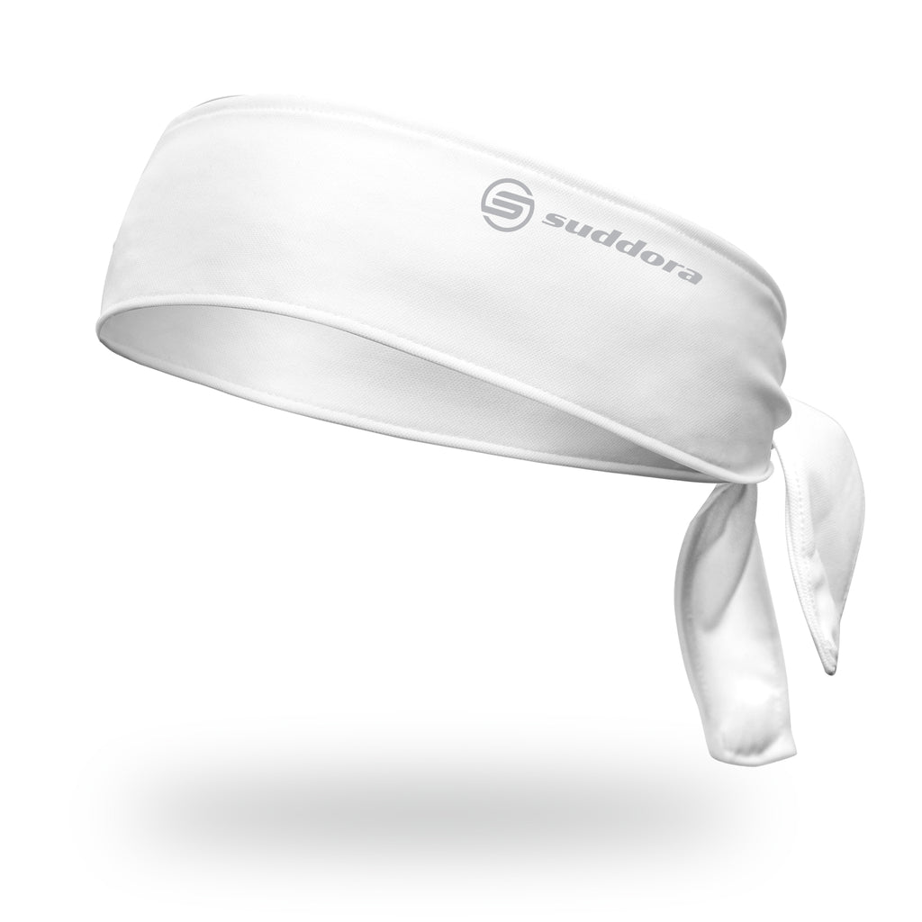 - Suddora White Tie Headband