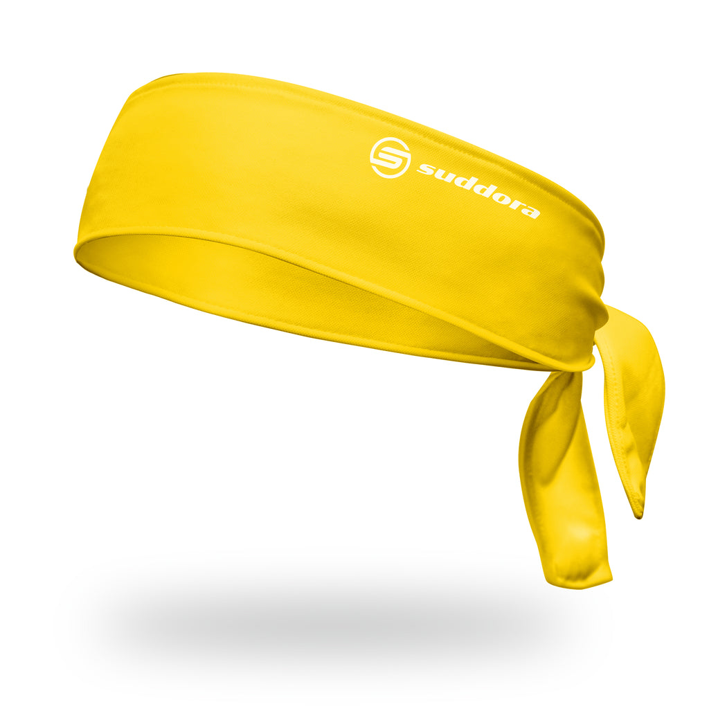 - Suddora Yellow Tie Headband