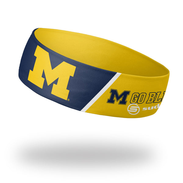 "University of Michigan Headband (2.25"" Reversible)"