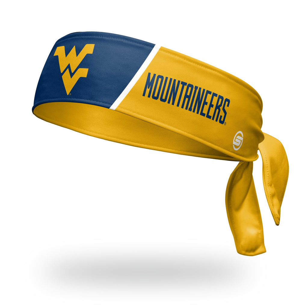 - West Virginia University Tie Headband