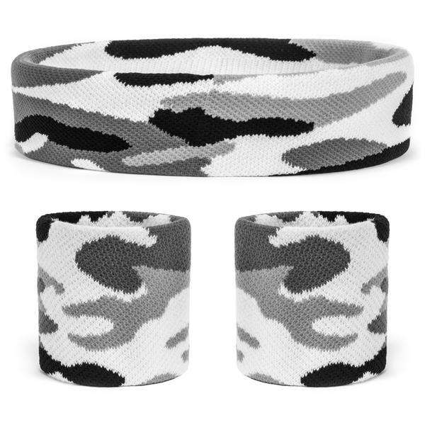 - Suddora Camo Headband / Wristbands Set