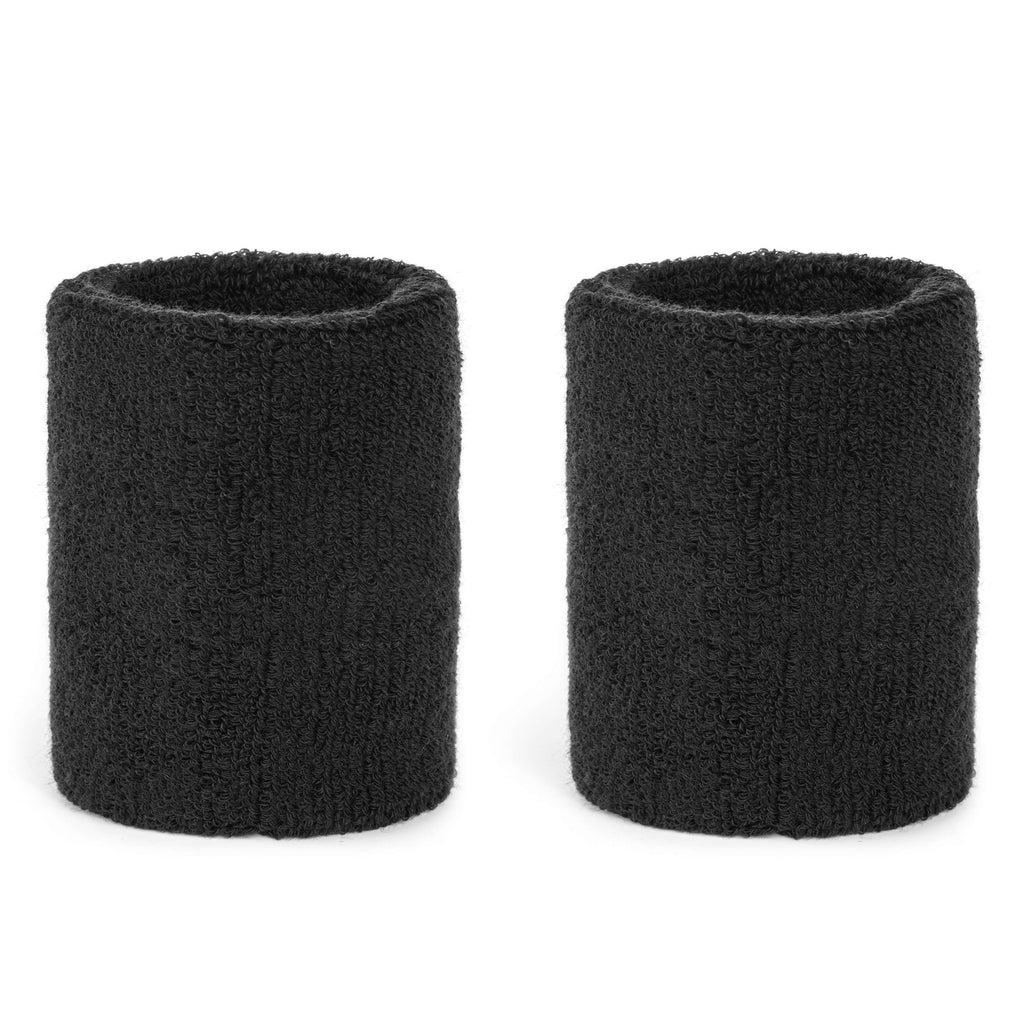 Black - Suddora 4 Inch Armband Pair [3-Pack]