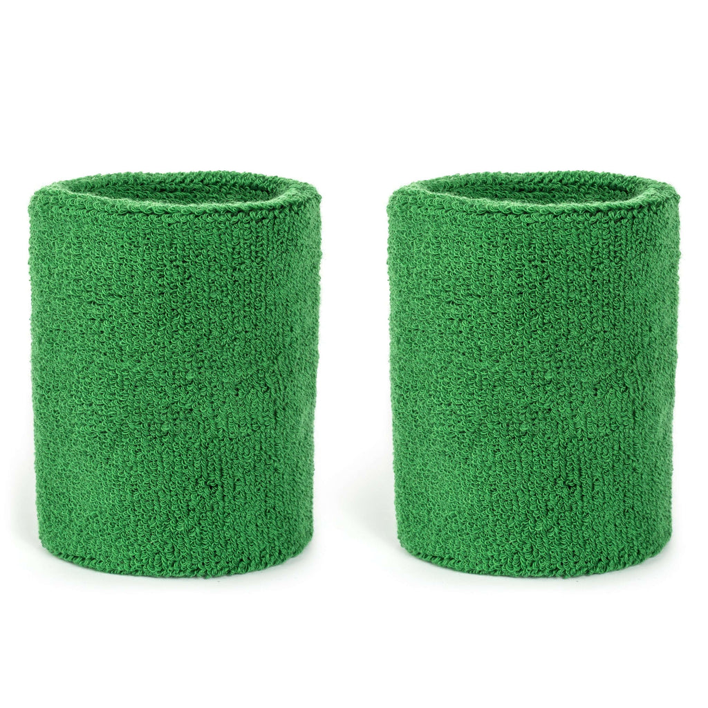 Green - Suddora 4 Inch Armband Pair [3-Pack]