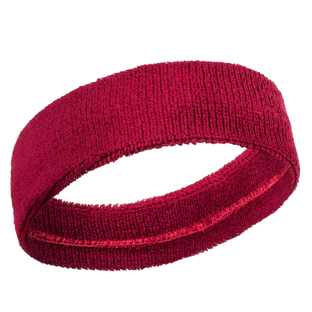 Maroon - Bulk Suddora Headbands [50-Pack]