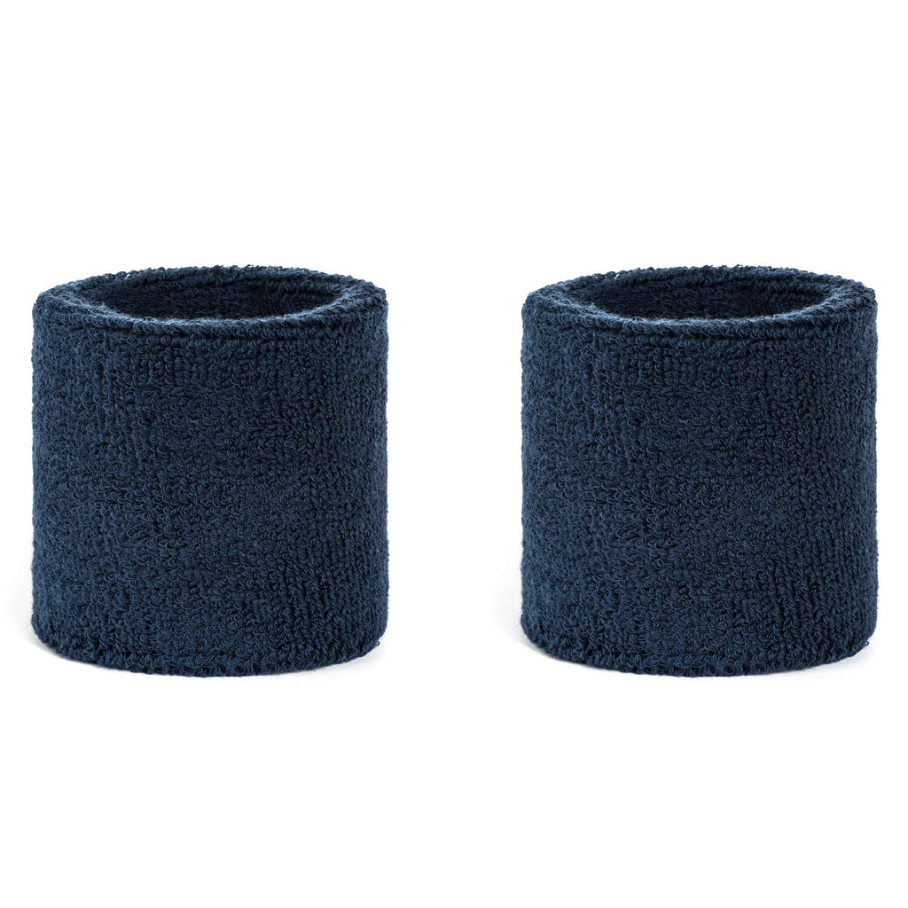 Navy Blue - Suddora Wristband Pair [3-Pack]
