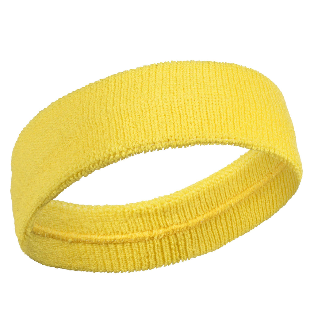 Yellow - Bulk Suddora Headbands [50-Pack]