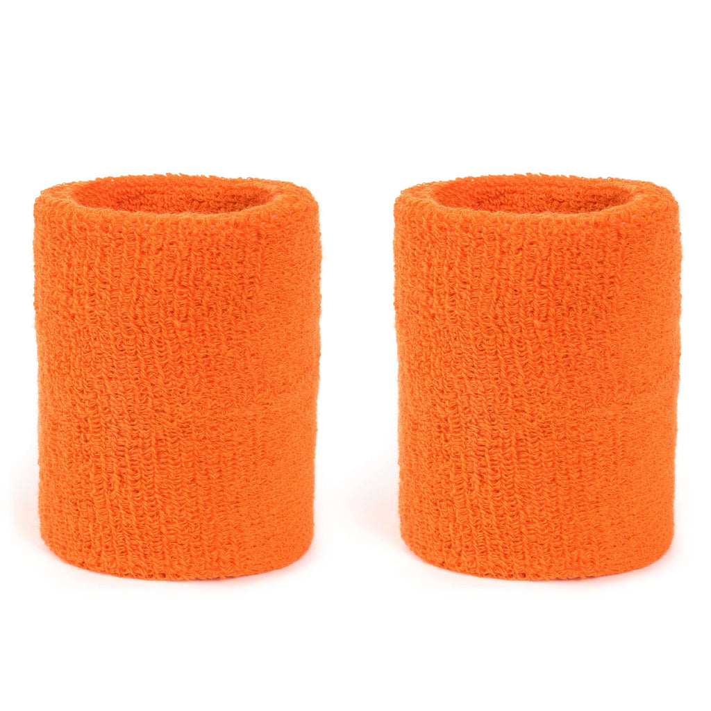 Orange - Suddora 4 Inch Armband Pair