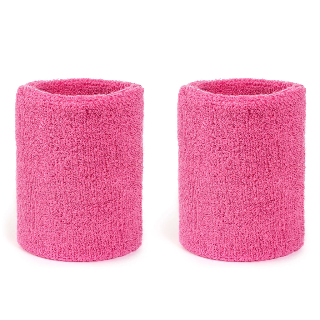 Pink - Suddora 4 Inch Armband Pair