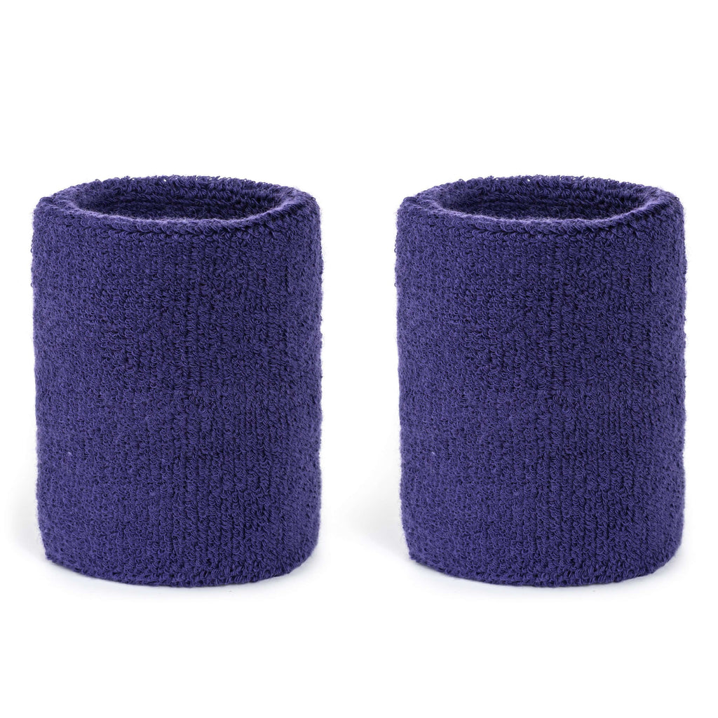 Purple - Suddora 4 Inch Armband Pair [3-Pack]