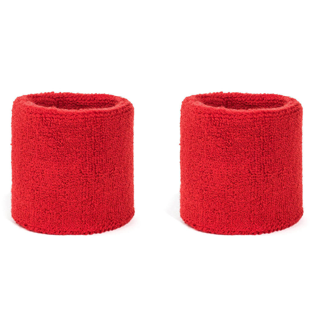 Red - Suddora Wristband Pair [3-Pack]
