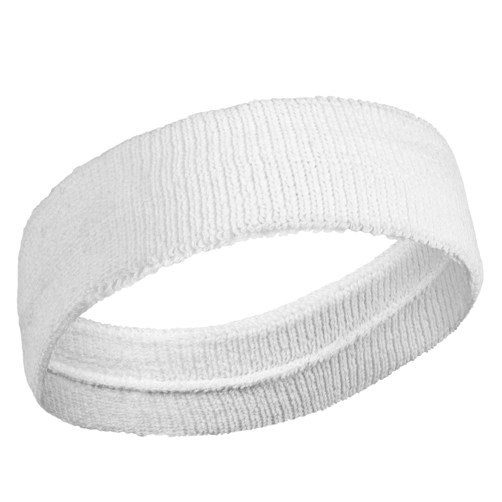 White - Bulk Suddora Headbands [50-Pack]