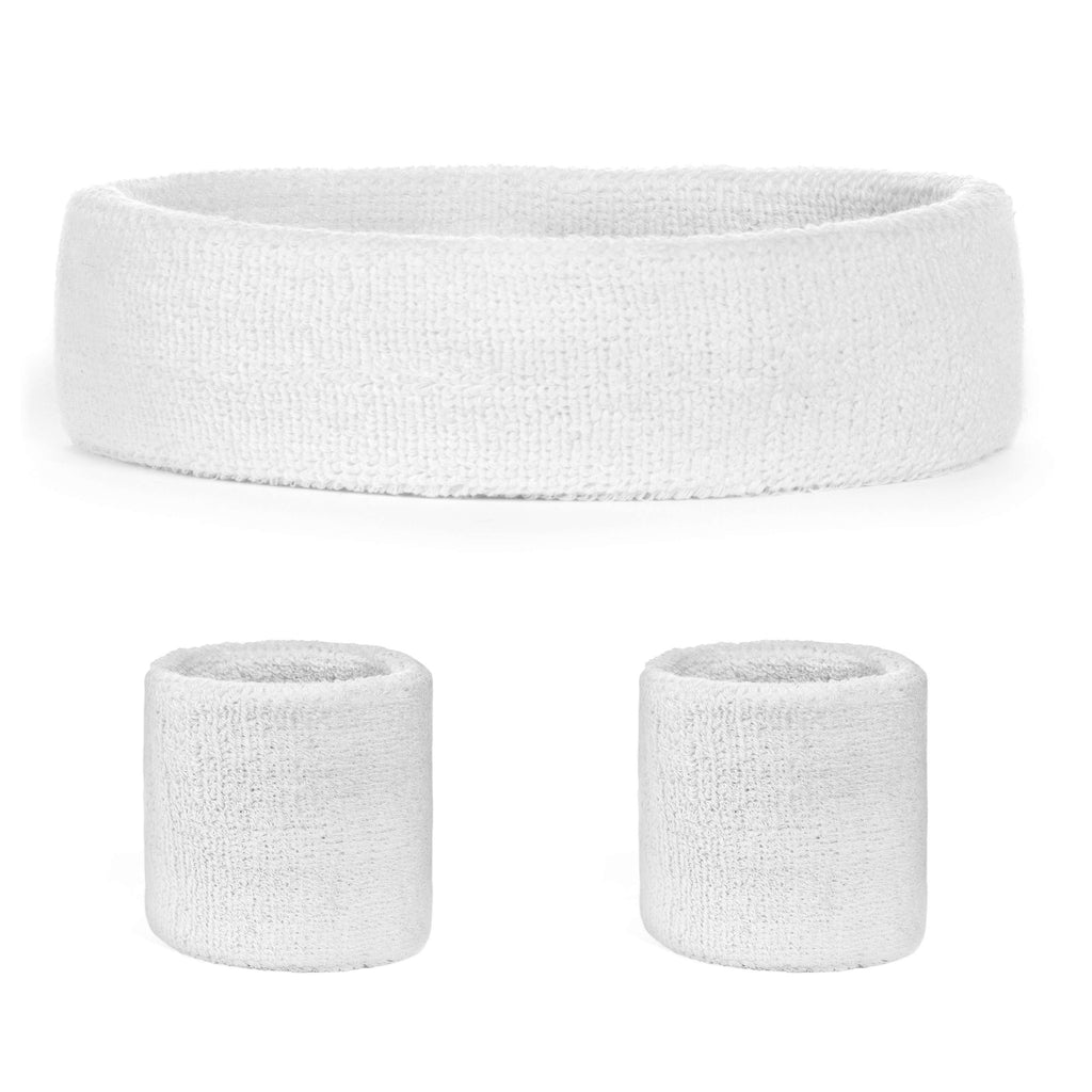 - Suddora Sweatband Set (1 Headband & 2 Wristbands)