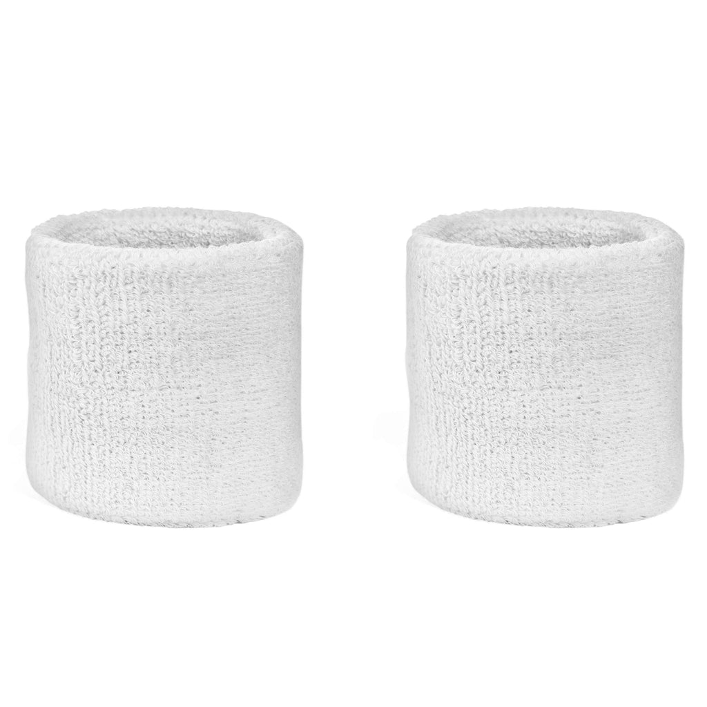 White - Suddora Wristband Pair [3-Pack]