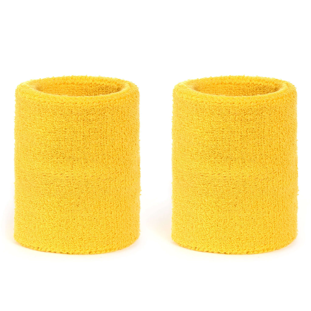 Yellow - Suddora 4 Inch Armband Pair