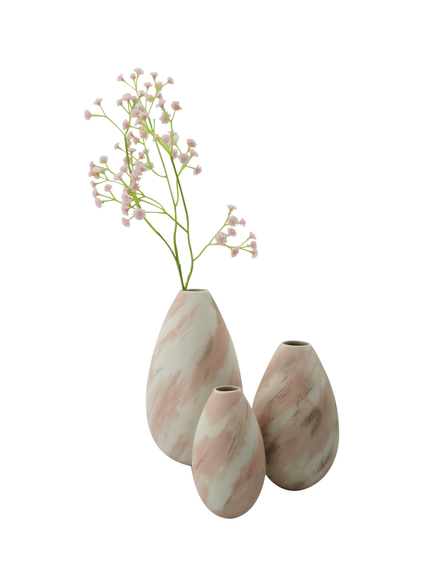 Rose adega vase with flower
