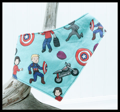 Captain America Pet Bandana