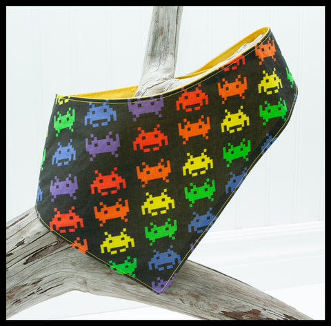 Space Invaders Pet Bandana