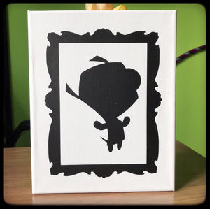 Gir from Invader Zim Canvas
