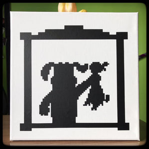 Dog from Duck Hunt Canvas