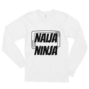 Naija Ninja Unisex Long Sleeve T-shirt