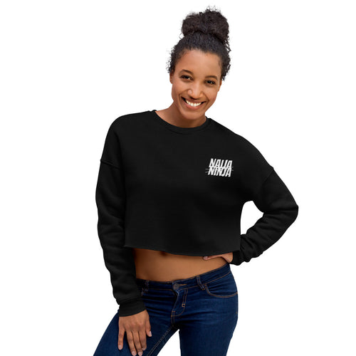 Ninja Crop Sweatshirt