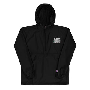 Ninja Embroidered Champion Packable Jacket