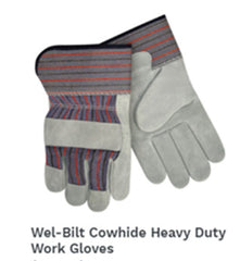 Cowhide Heavy Duty Work Gloves
