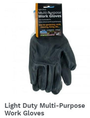 Light Duty Multi Purpose Work Gloves