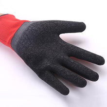 Nylon Work Gloves with Flex Latex Coated Palm