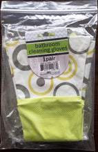 Bathroom Cleaning Gloves with Nylon Cuffs