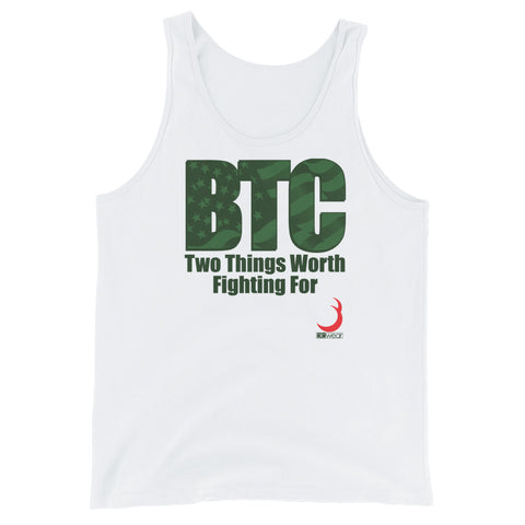 BTC Fight For ODG Unisex Tank