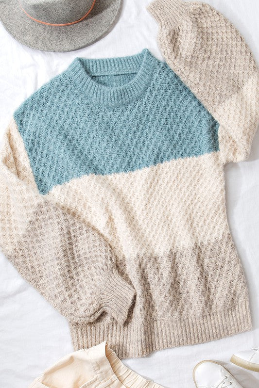Ivy Colorblock Sweater
