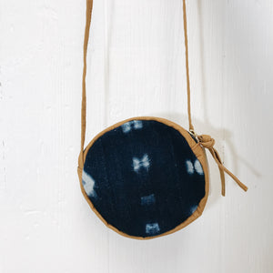 Mudcloth Circle Bag - Wildfire