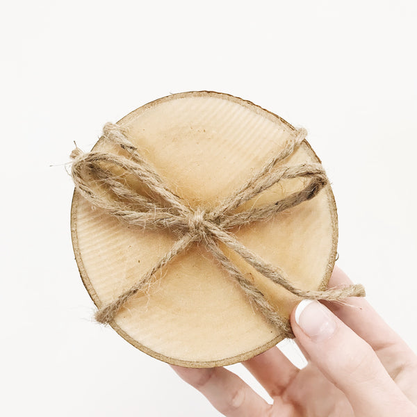 Birch Wood Coasters
