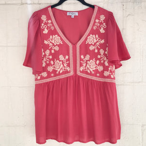Julie Embroidery Top