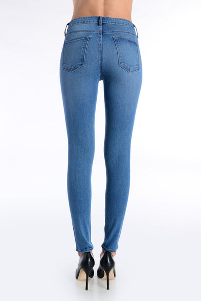 Morgan High Rise Skinny Jeans
