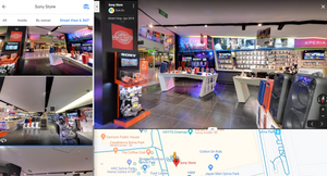 Google maps street view tour for business