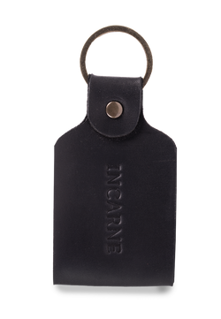 Stylish But Minimalist Leather Unisex Keychain
