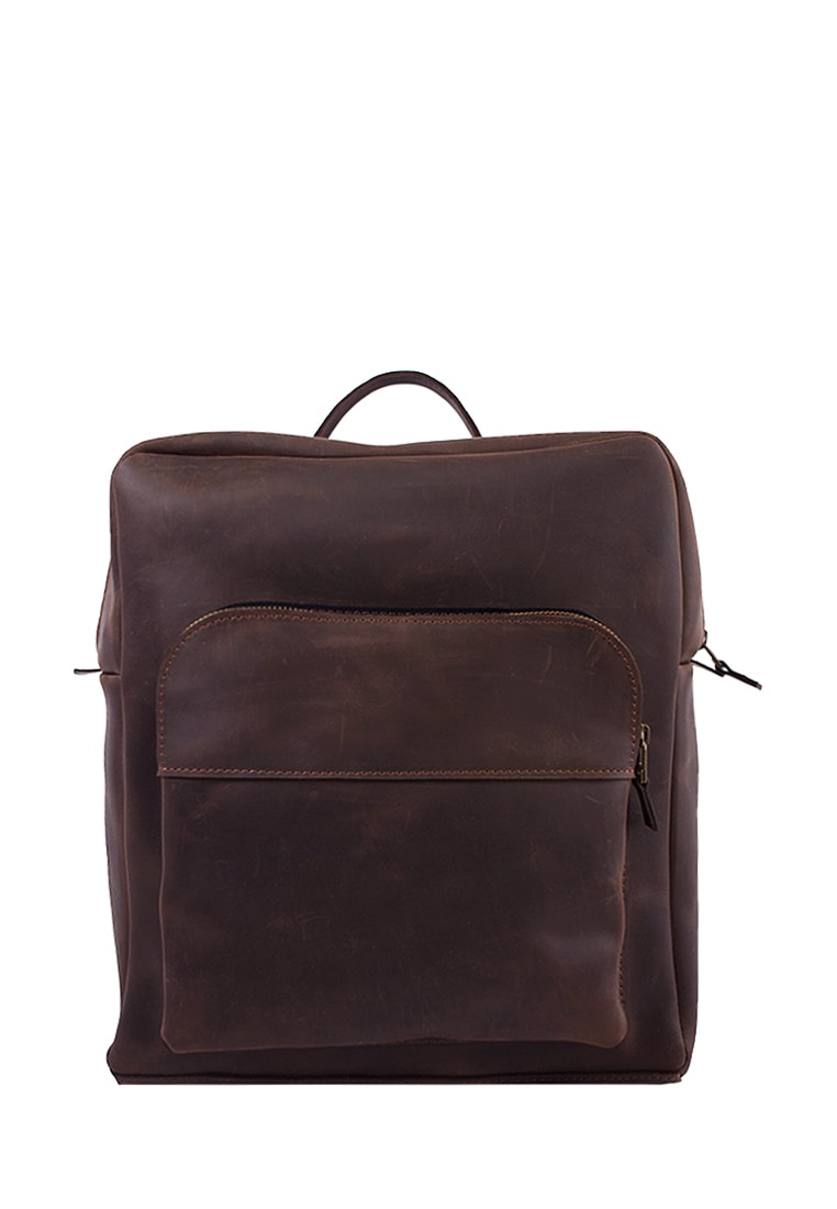 Large And Comfortable Everyday Leather Backpack