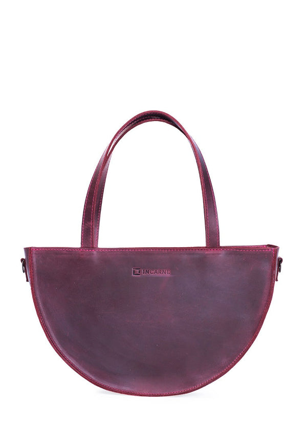Evening Women's Purse Made Of Natural Leather