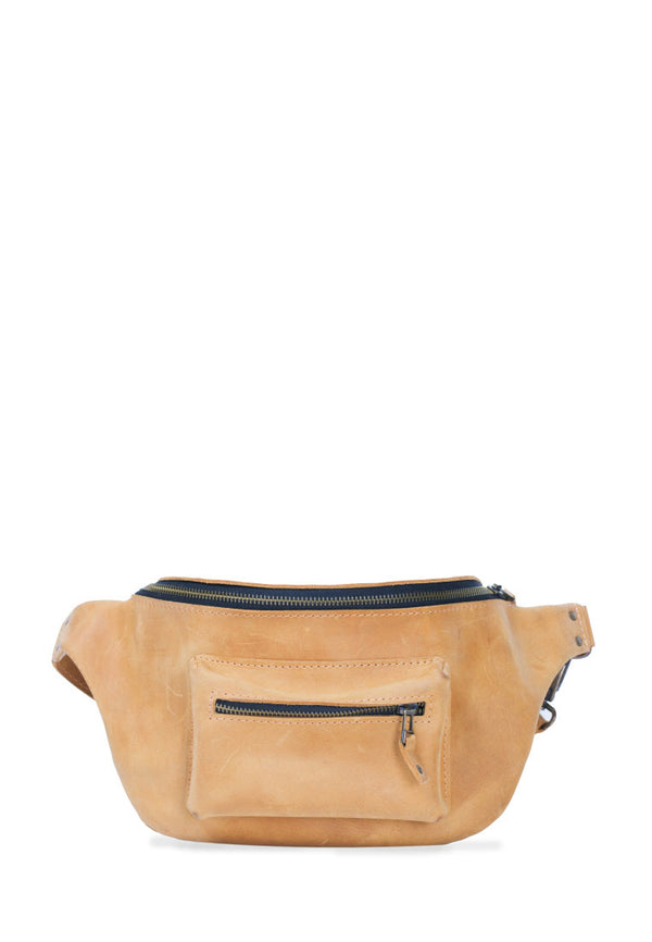 Nice Fanny Pack Made Of Natural Leather