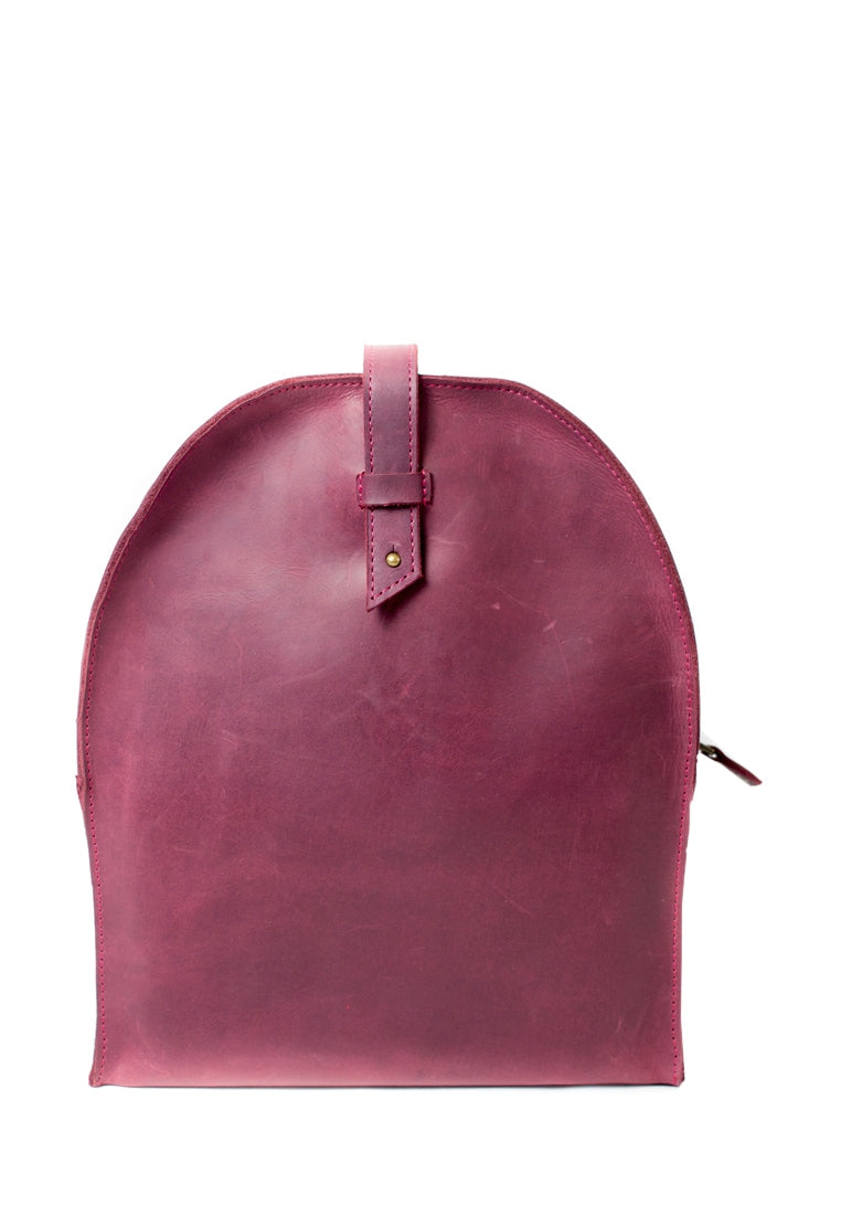 Women's Leather Mini Backpack Made Of Genuine Leather