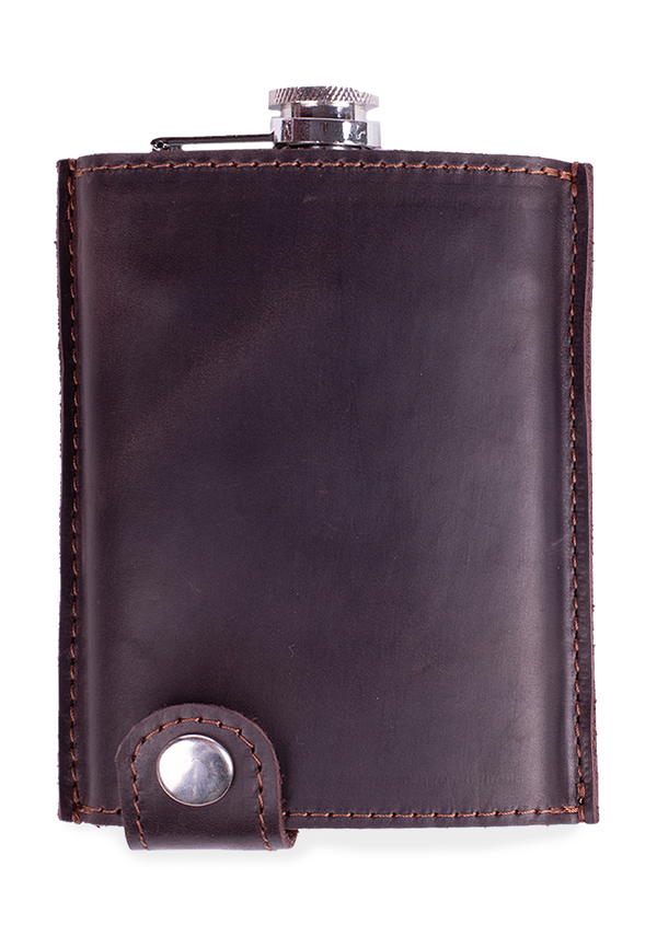 Handmade Leather Flask Holder