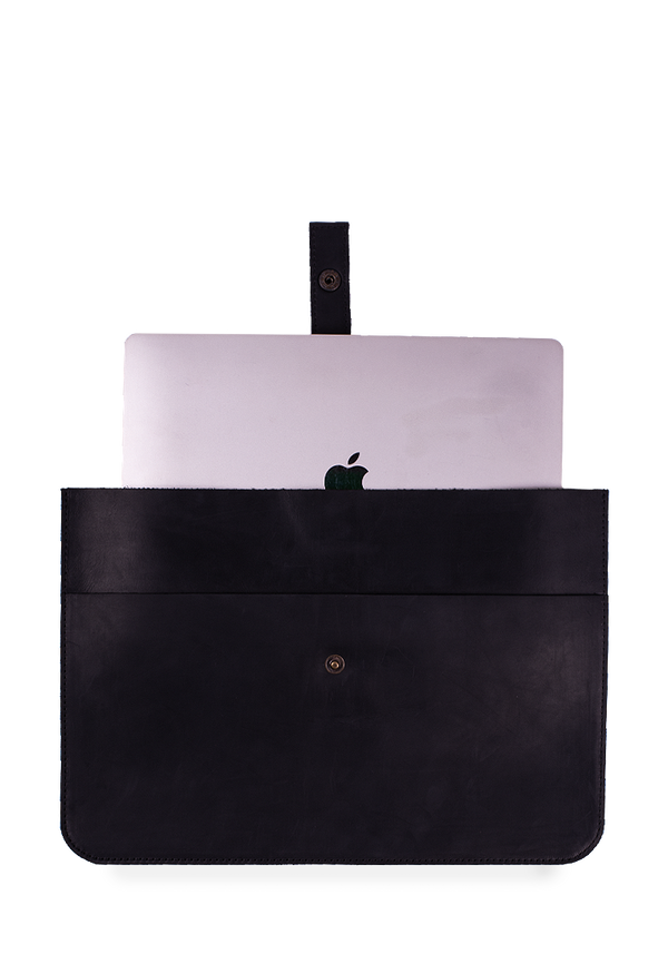 Stylish MacBook Case Made Of Genuine Leather
