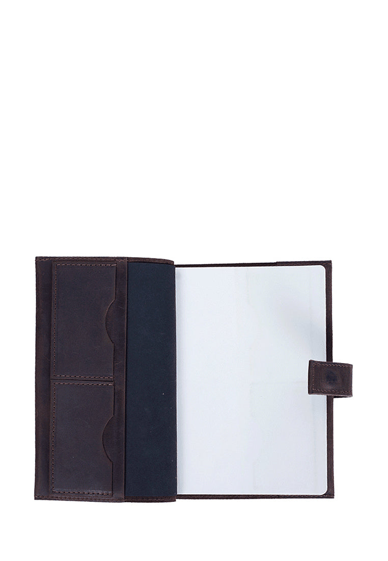 Elegant Handmade Leather Bound Notebook