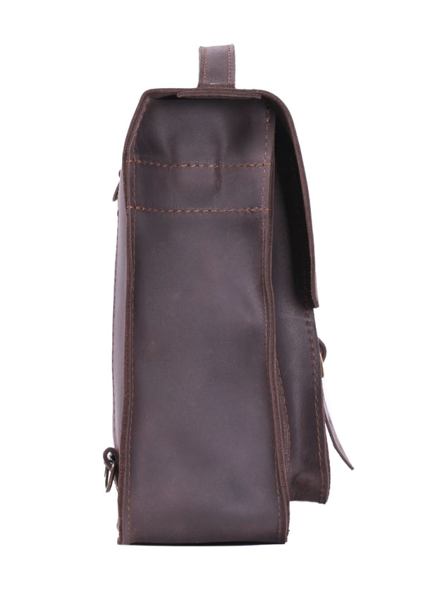 Stylish Small Leather Convertible Bag