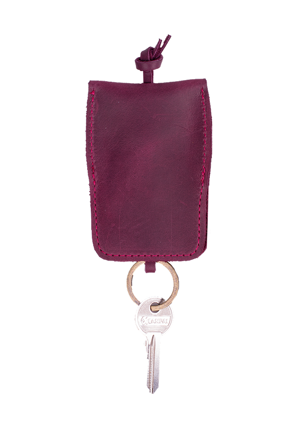 Unique Design Keychain Made Of Genuine Leather