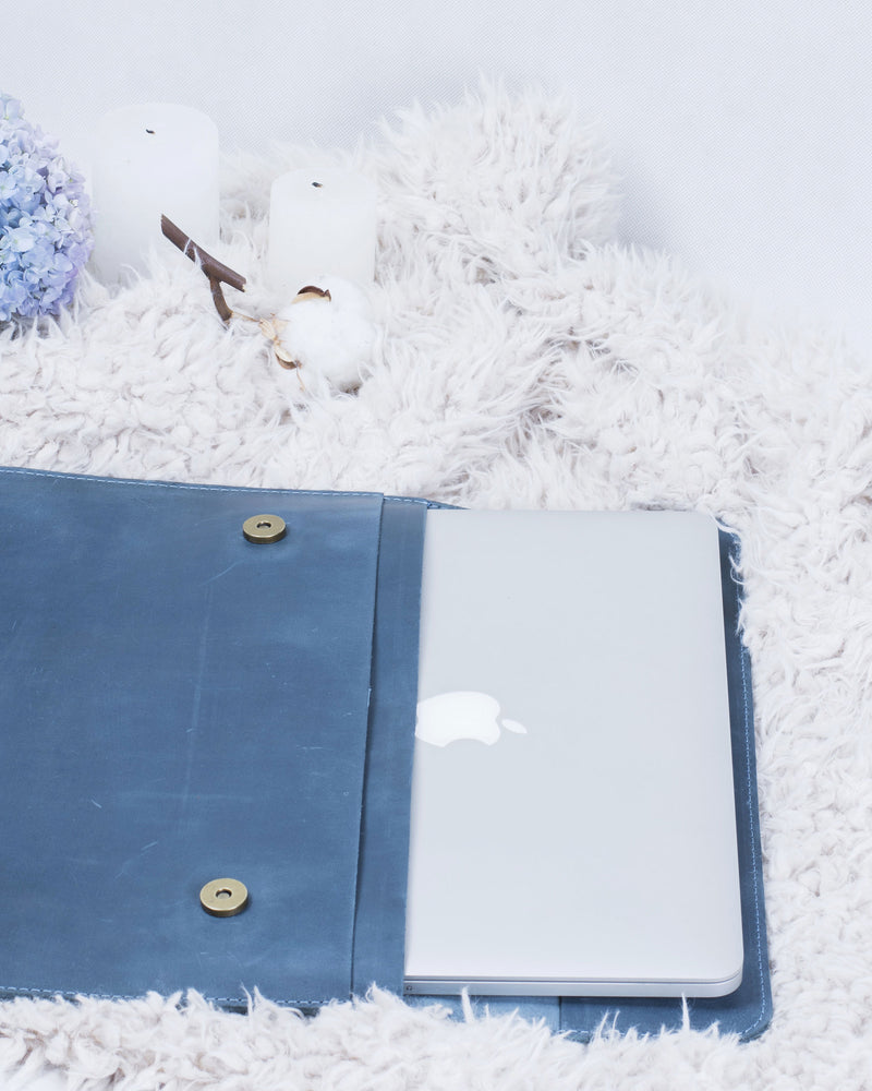 Stylish Leather Case For MacBook