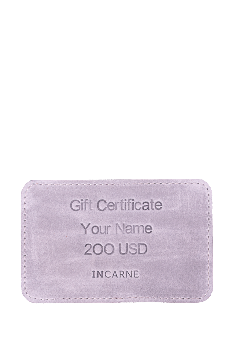 Original Gift Certificates By INCARNE